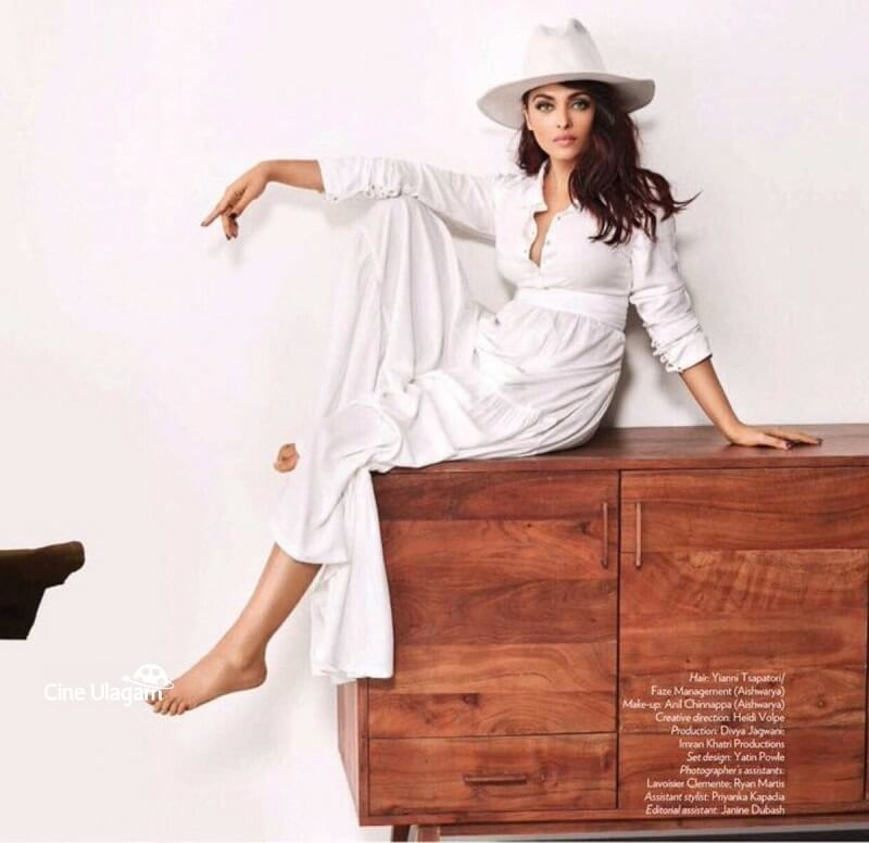 Aishwarya Rai white outfit photoshoot_Vogue magazine
