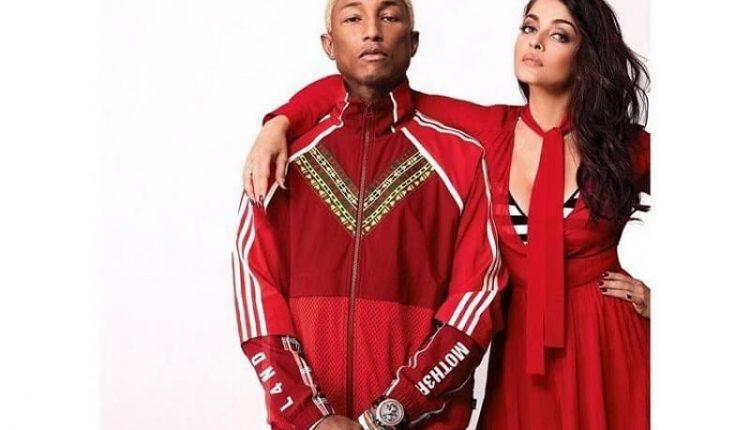 Aishwarya Rai and Pharrell Williams's photoshoot for the American fashion magazine Vogue April 2018 (4)