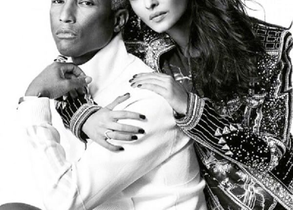 Aishwarya Rai and Pharrell Williams's photoshoot for the American fashion magazine Vogue April 2018 (8)