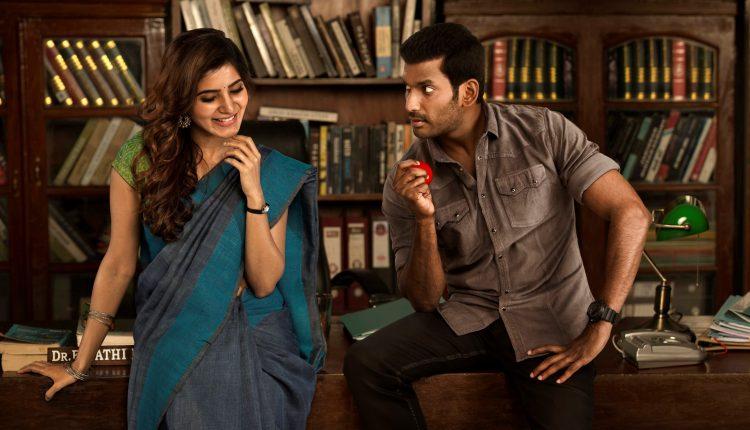 Samantha_looks _Gorgeous_Irumbu_Thirai_Movie_Stills_with_Vishal