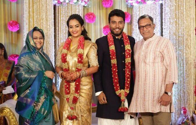 Suja Varunee marriage photos
