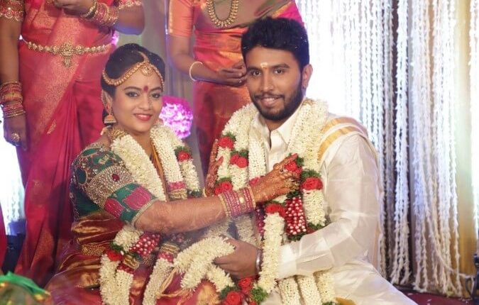 Suja Varunee marriage photos and details